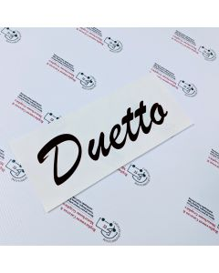Autosleeper Duetto Sticker decal graphic