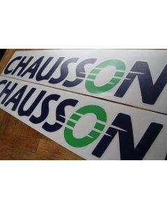 Chausson Motorhome Decals