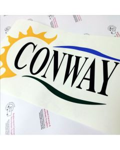 Conway Trailer Tent Sticker Decal Graphic