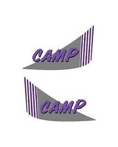 Hymer camp near side and off side c644 graphics by Caravan graphics
