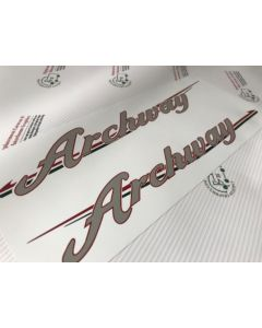 Swift Archway Handed decal sticker