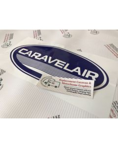 Caravelair Oval Sticker Decal Graphic