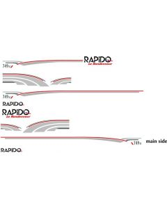 Rapido 749M full set graphics and tapoes