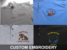 CUSTOM EMBROIDERY BY CARAVAN GRAPHICS