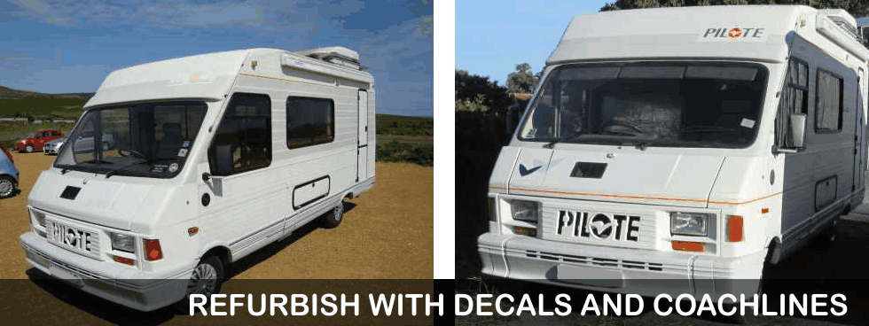 Replacement Motorhome Graphics