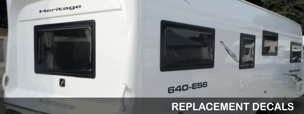 Replacement Caravan Decals