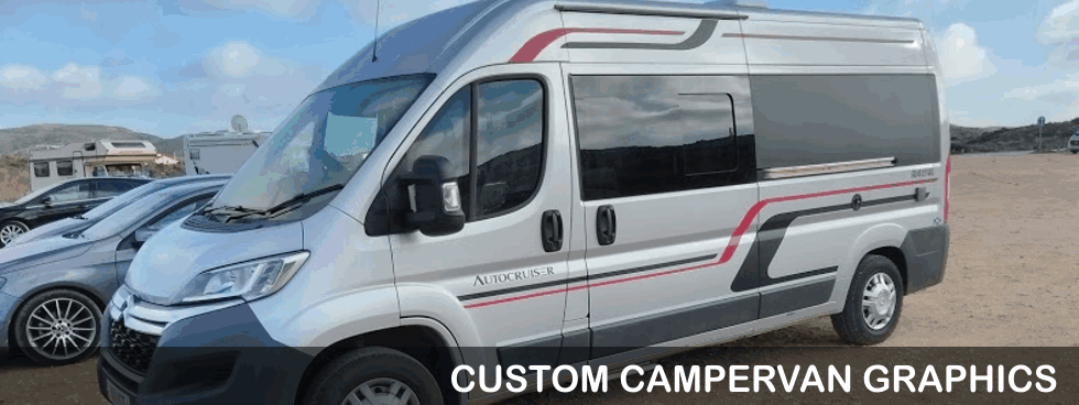 Custom Campervan Graphics
